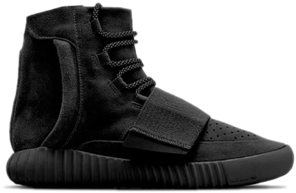 Фото Adidas Yeezy Boost 750 by Kanye West Черные - 1