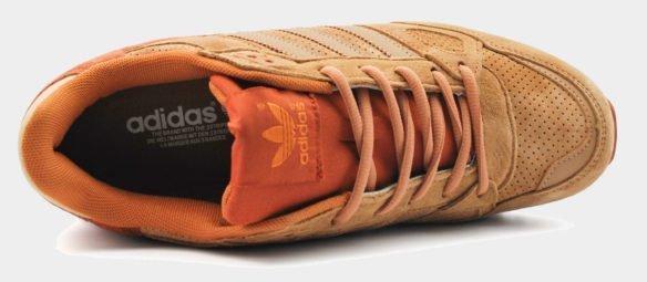 Adidas ZX 750 оранжево-рыжие