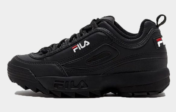 Фото Fila Disruptor Low черные - 1