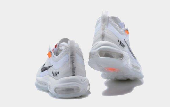 Фото Nike x OFF WHITE Air Max 97 белые - 2