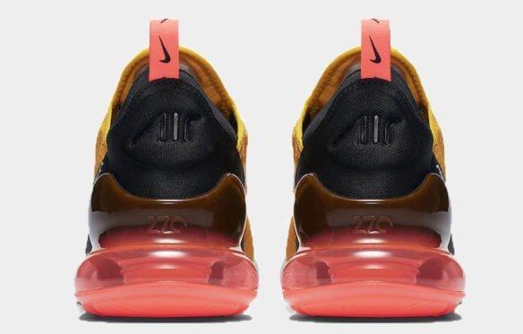 Фото Nike Air Max 270 желтые - 2