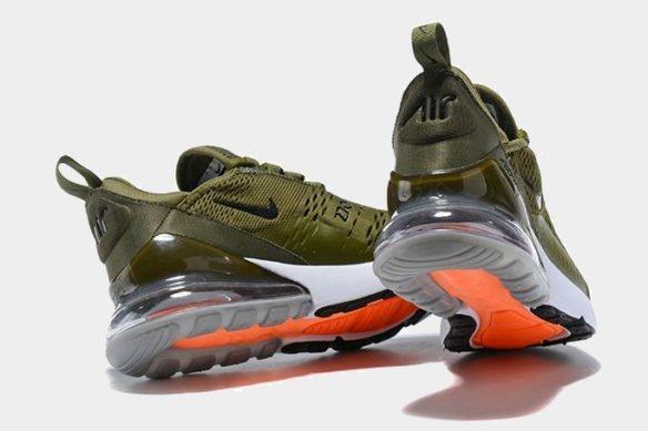 Фото Nike Air Max 270 зеленые - 3